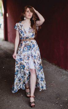 модные шифоновые платья 2017 фото (35)