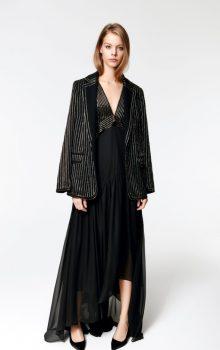 модные шифоновые платья 2017 фото (37)