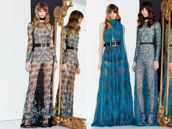 модные шифоновые платья 2017 фото (38)