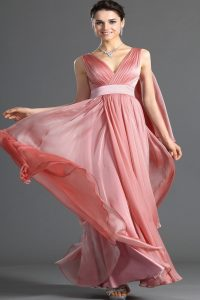 модные шифоновые платья 2017 фото (45)