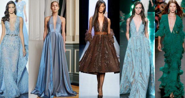 модные шифоновые платья 2017 фото (48)