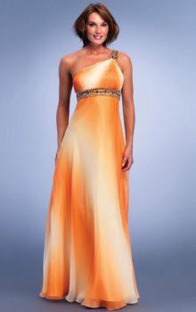 модные шифоновые платья 2017 фото (75)