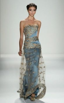 модные шифоновые платья 2017 фото (9)