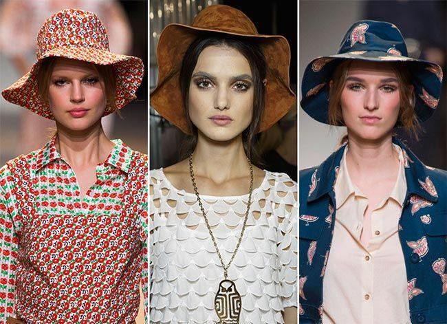 модные шляпы, кепки и береты 2017 фото (6)