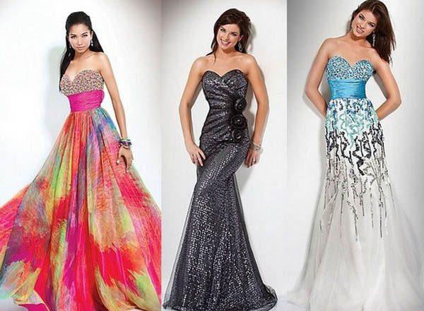 модные вечерние платья 2017 фото (3)