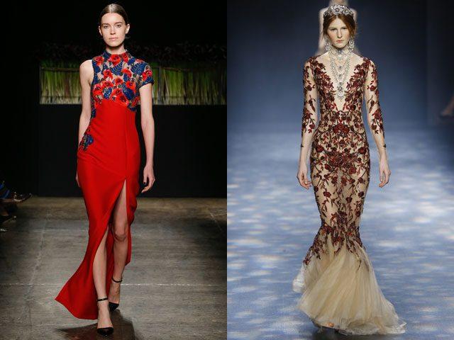 модные вечерние платья 2017 фото (34)