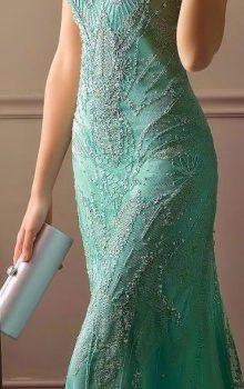 модные вечерние платья 2017 фото (48)