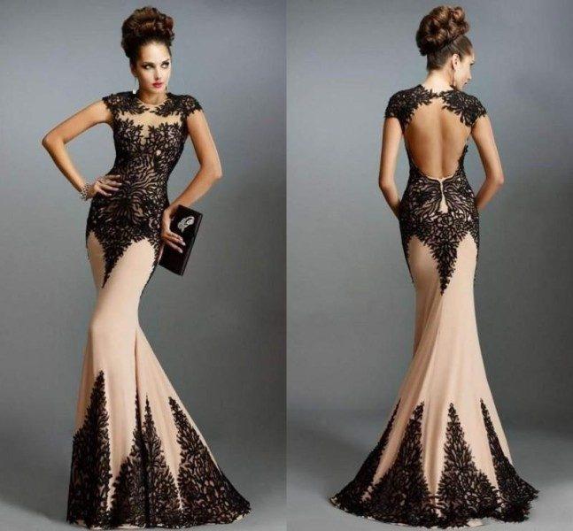 модные вечерние платья 2017 фото (5)
