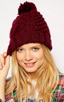 модные женские шапки 2016-2017 фото (12)