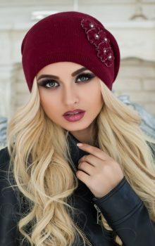 модные женские шапки 2016-2017 фото (4)