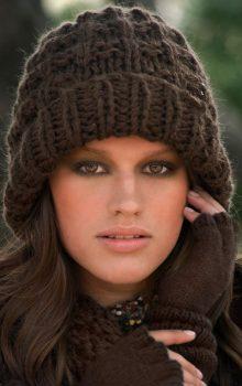 модные женские шапки 2016-2017 фото (8)
