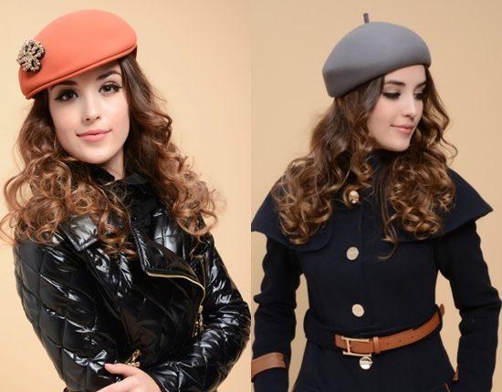 модные женские шапки 2016-2017 фото (9)