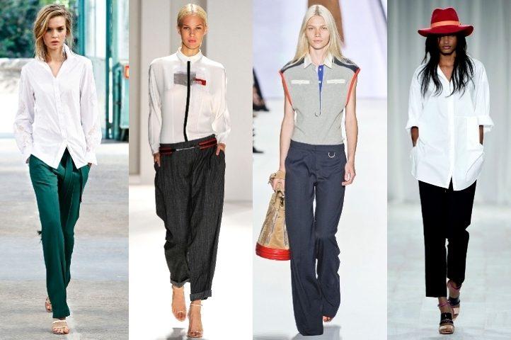 рубашки в женском гардеробе фото (1)