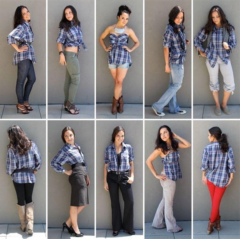 рубашки в женском гардеробе фото (2)