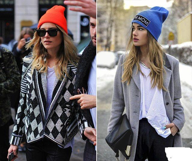 с чем носить шапку бини фото (5)