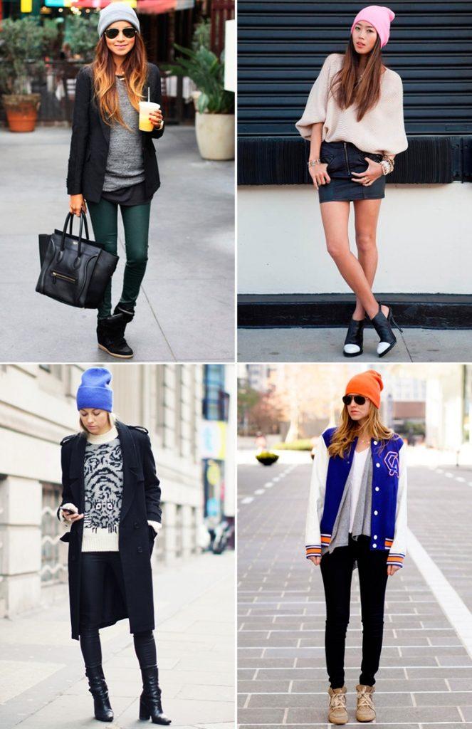 с чем носить шапку бини фото (9)