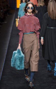 укороченные брюки 2017 фото (3)