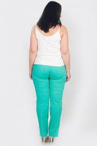 С чем носить бирюзовые брюки фото (2)