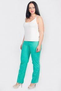 С чем носить бирюзовые брюки фото (3)