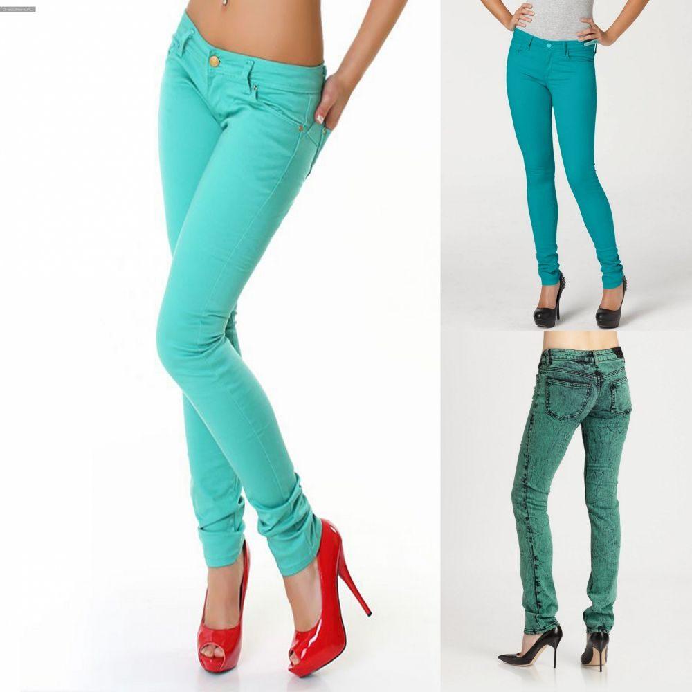 С чем носить бирюзовые брюки фото (7)