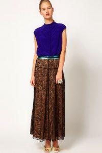 С чем носить гипюровую юбку фото (1)