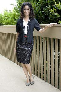 С чем носить гипюровую юбку фото (19)