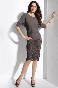 С чем носить гипюровую юбку фото (3)