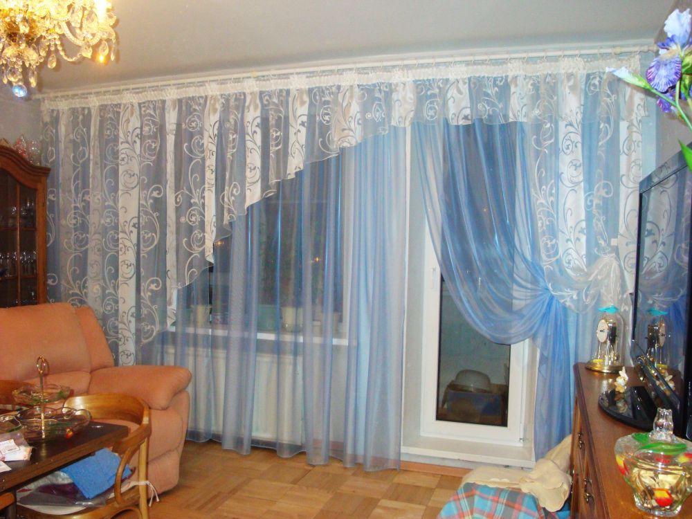 Идеи тюли для зала фото
