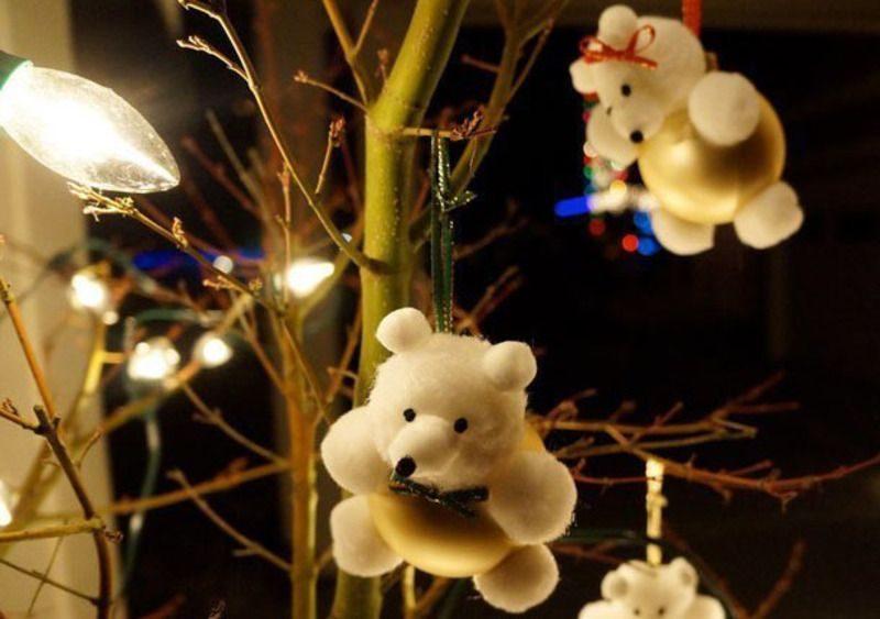 Мишка на елку