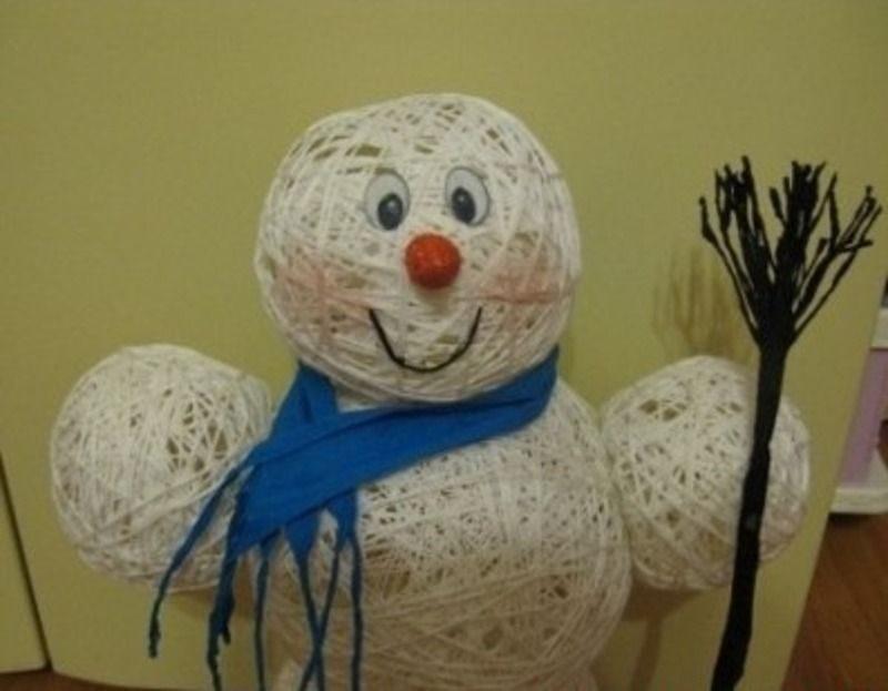 Снеговик-уникальный