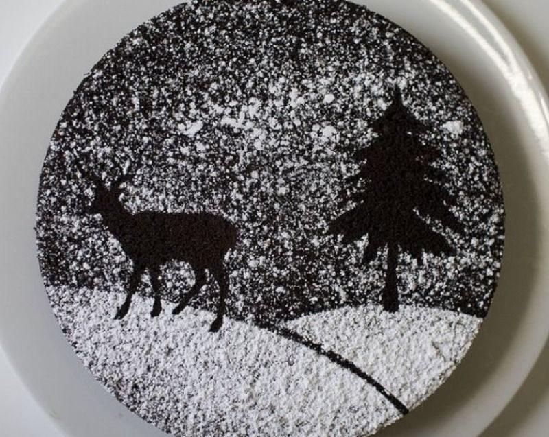 Шоколадно-сахарное декорирование