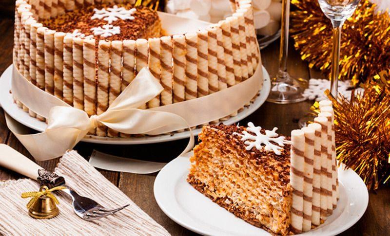 Декорируем торты на Новый год