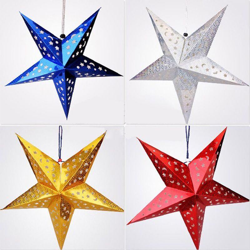 Звезды для декора своими руками шаблоны