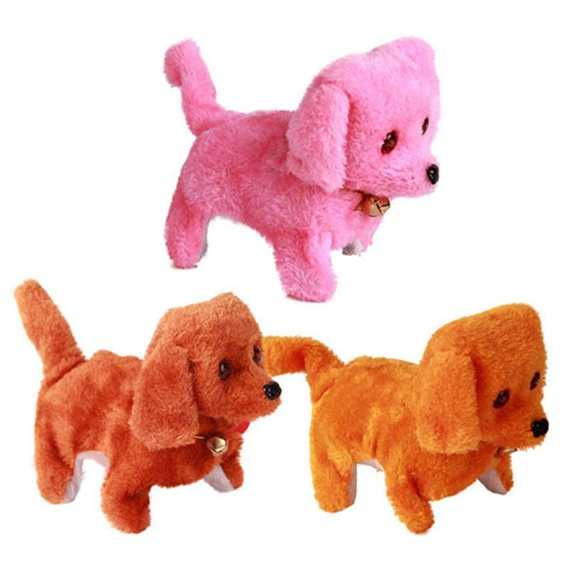 Тканевые щенки