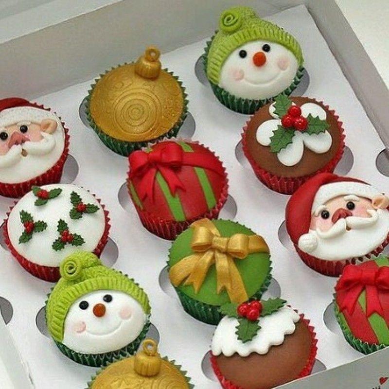 Пирожные на новый год своими руками