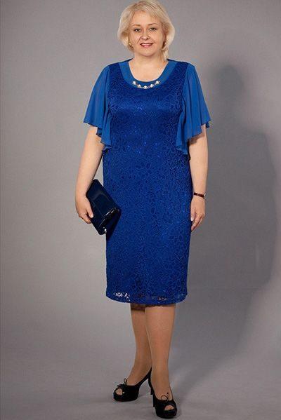 Платье для полной женщины 60 лет