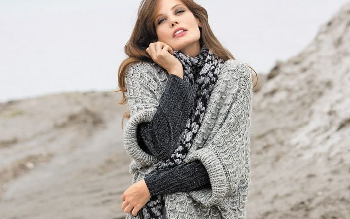 Модные вязаные кардиганы, жакеты осень-зима 2017-2018