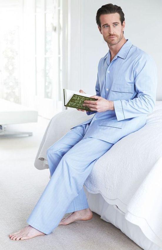 Мужские пижамы: Разнообразие фасонов, комфортные варианты и самые красивые фото