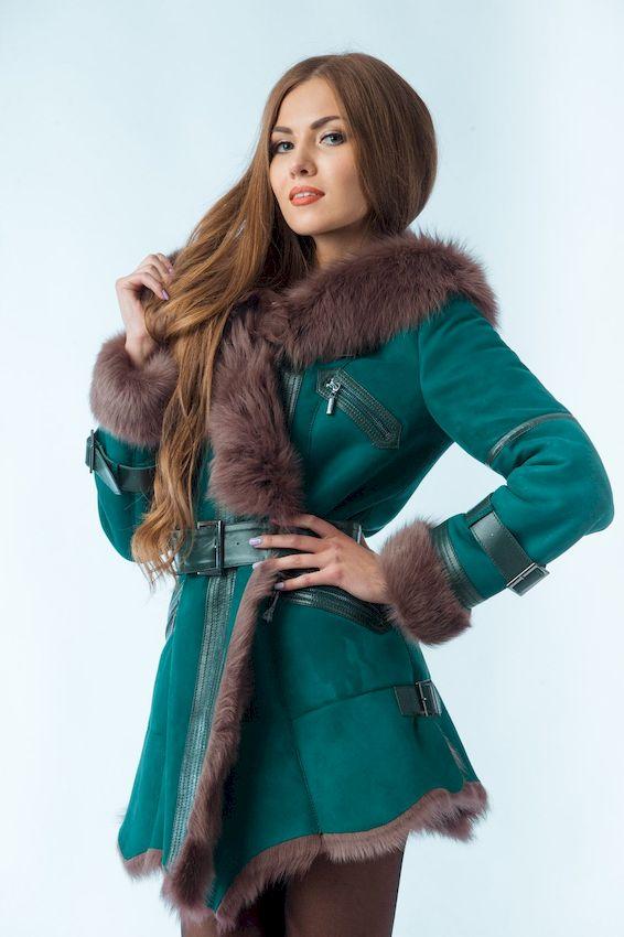 Новинки женских дубленок сезона осень-зима 2019-2020