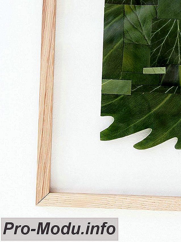 Картины из листьев: мастер-классы и интересные идеи