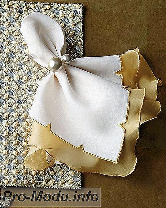 90 оригинальных способов складывания салфеток