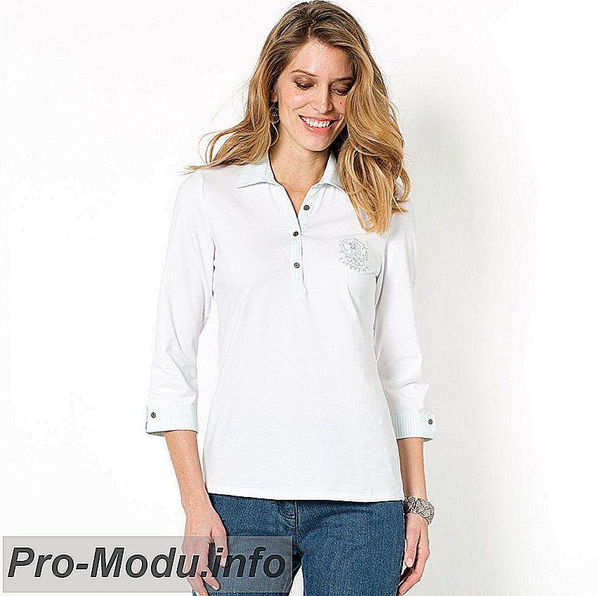 Модные рубашки и футболки поло: тренды 2018