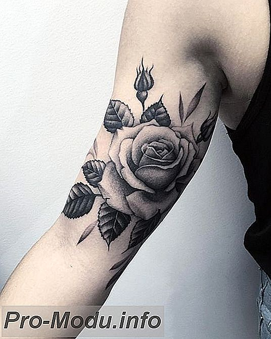 Невероятные идеи для тату в виде Розы