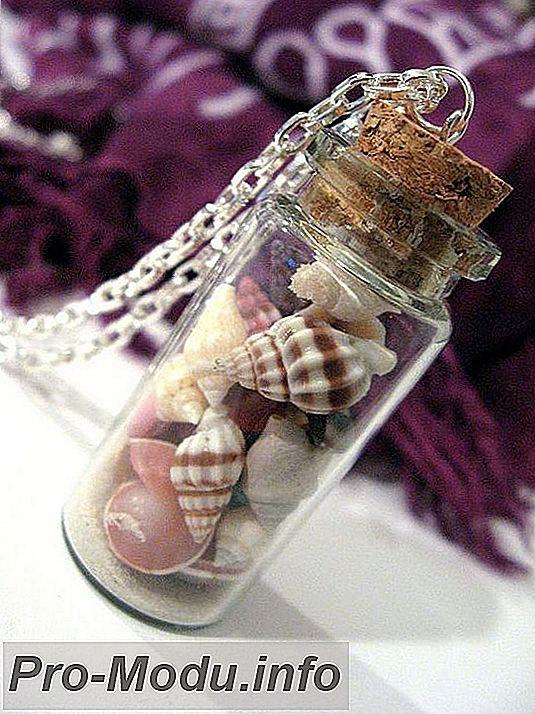 Поделки из стеклянных бутылок