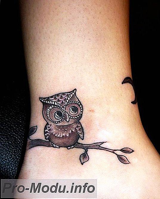Татуировки на ноге для девушек