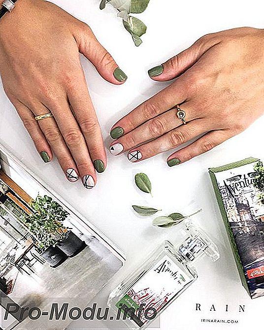 Стильные рисунки на ногтях: Осень 2019