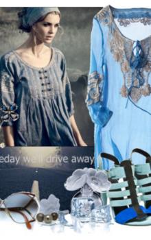 Модные расцветки туник фото (1)