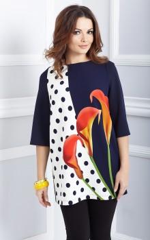 Модные расцветки туник фото (12)