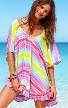 Модные расцветки туник фото (5)