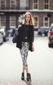 Повседневные образы с узкими брюками, джинсами фото (2)